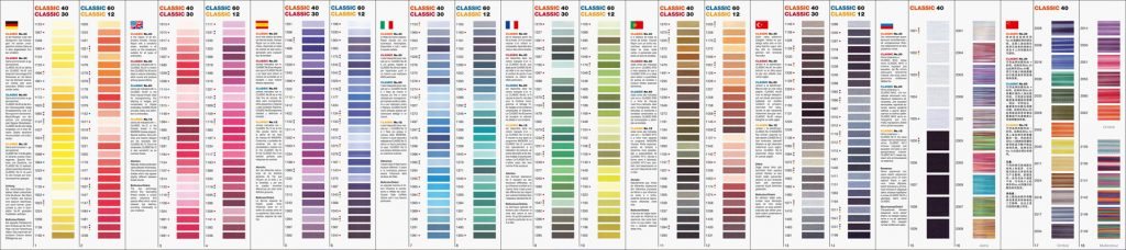 Maderia CLASSIC COLOUR SWATCH